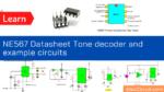 NE567 Datasheet Tone decoder_phase-locked loop and example circuits