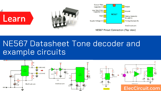 NE567 Datasheet Tone decoder_phase-locked loop and example circuits