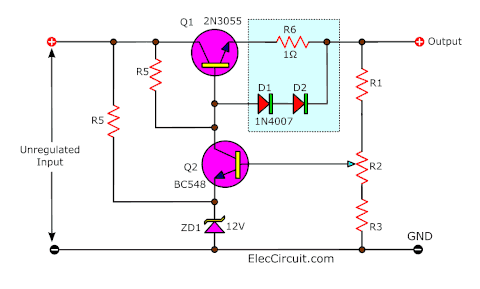 Overload Protection using Diodes