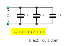 Parallel Capacitor Circuit