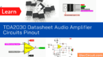 TDA2030 Datasheet Audio Amplifier Circuits Pinout