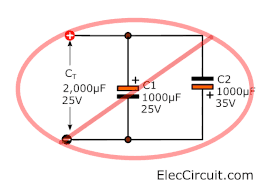 wrong electrical connection