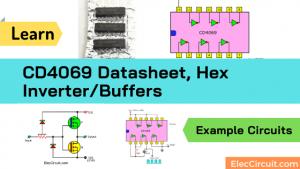 CD4069 Datasheet,Hex inverter Buffers & sample circuits