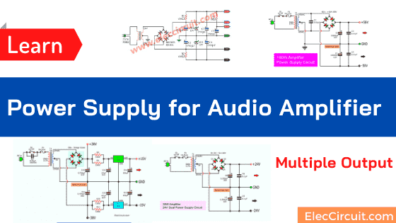 Power Supply for Audio Amplifier , multiple output