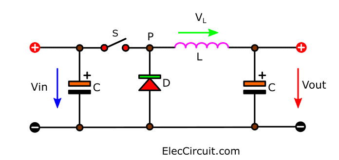 DC to DC Buck converter working principle