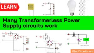 DC regulated transformerless Power Supply
