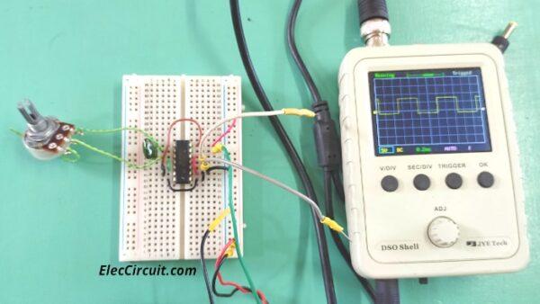 the output waveform of CD4047