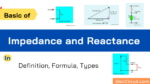 Basic of Impedance and Reactance in Definition, Formula, Types