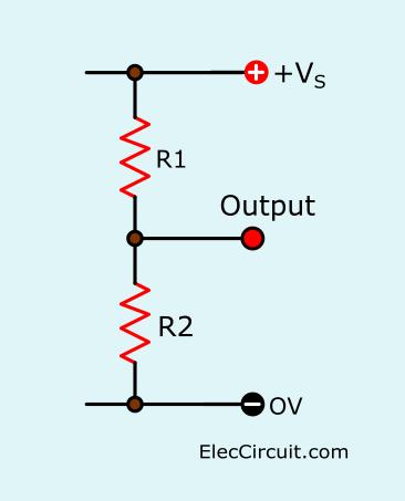 Basic resistor divider circuit