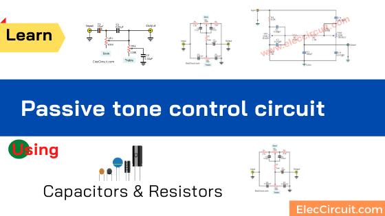 Passive tone control circuit