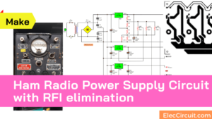 Ham Radio Power Supply circuit with RFI elimination