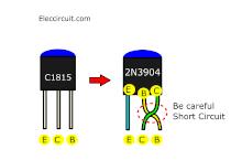 Use 2N3904 instead C1815