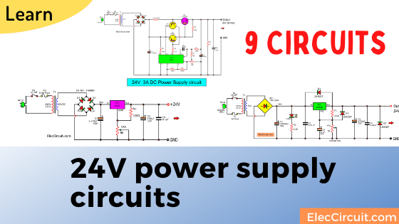 24V power supply circuits