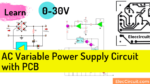 AC variable power supply