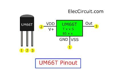UM66T pinout